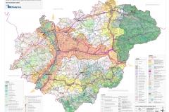 ZÚR Zlínského kraje - Koordinační výkres (březen 2008)