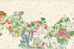 Průchodnost variant VRT ve vztahu k ÚPD dotčených obcí (únor 2014)
